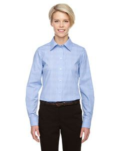 Devon & Jones Ladies Crown Woven Collection Glen Plaid