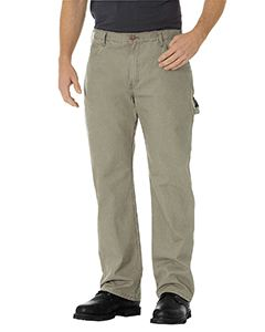 Dickies Drop Ship Men's Relaxed Fit Straight-Leg Carpenter Duck Pant