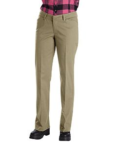 Dickies Drop Ship Ladies Relaxed Straight Stretch Twill Pant