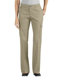 Dickies Drop Ship Ladies Relaxed Straight Server Cargo Pant