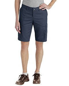 Dickies Drop Ship Ladies Industrial Cotton Cargo Short