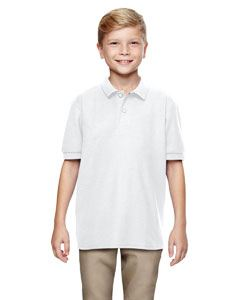 Gildan Youth 6 oz. Double Pique Polo