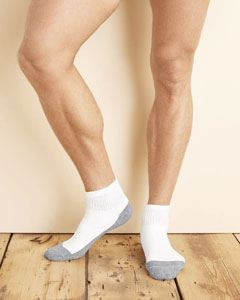 Gildan Adult Platinum Adult Ankle Socks