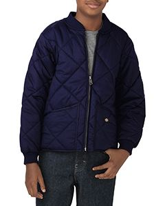 Dickies Drop Ship Youth Quilted Nylon Jacket