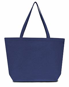 Liberty Bags Seaside Cotton 12 oz. Pigment-Dyed Large Tote