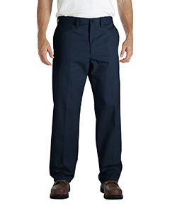 Dickies Drop Ship Men's Industrial Flat Front Comfort Waist Pant