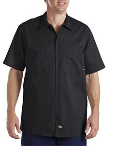 Dickies Drop Ship 6 oz. Industrial Short-Sleeve Cotton Work Shirt