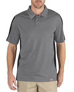 Dickies Drop Ship Unisex Industrial Color Block Performance Polo