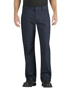 Dickies Drop Ship Unisex Industrial Relaxed Fit Straight Leg Carpenter Duck Jean Pant