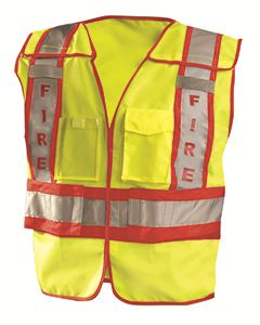 OccuNomix Men's Premium Solid Public Safety Fire Vest