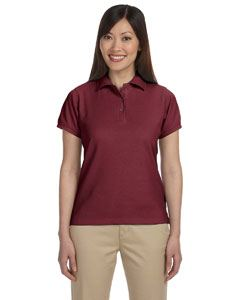 Harriton Ladies 5 oz. Blend-Tek Polo