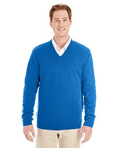 Harriton Men's Pilbloc V-Neck Sweater