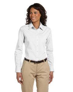 Harriton Ladies 3.1 oz. Essential Poplin