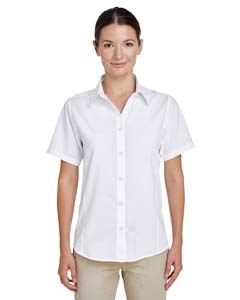 Harriton Ladies Paradise Short-Sleeve Performance Shirt