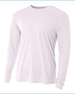 A4 Drop Ship Youth Long Sleeve Cooling Performance Crew Shirt