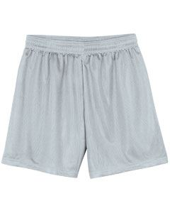 A4 Drop Ship Youth Lined Micro Mesh Short