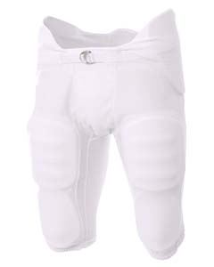 A4 Drop Ship Youth Flyless Integrated Football Pants