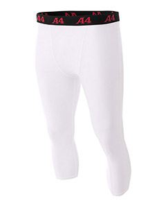 A4 Drop Ship Youth Polyester/Spandex Compression Tight