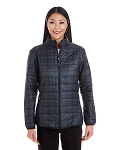 Ash City - North End Ladies Portal Interactive Printed Packable Puffer Jacket