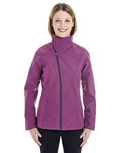 Ash City - North End Ladies Edge Soft Shell Jacket with Convertible Collar