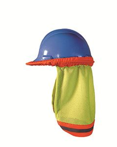 OccuNomix Men's High Visibility Shaded Mesh Hard Hat
