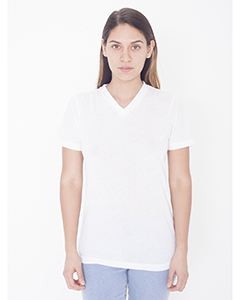 American Apparel Ladies Sublimation Classic Short-Sleeve V-Neck T-Shirt