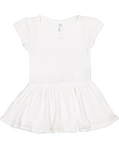 Rabbit Skins Drop Ship Infant Baby Rib Dress