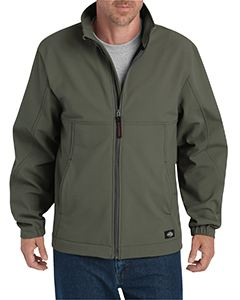 Dickies Drop Ship Men's Performance Flex Softshell Jacket