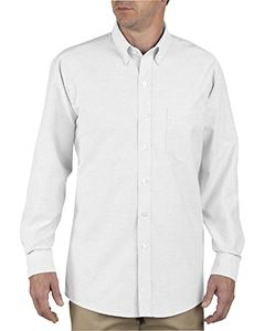 Dickies Drop Ship Unisex Button-Down Long-Sleeve Oxford Shirt