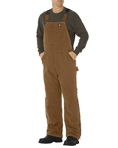 Dickies Drop Ship Unisex Sanded Duck Insulated Bib Overall