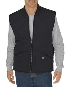 Dickies Drop Ship Unisex Tall Diamond Quilted Nylon Vest
