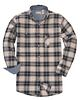 Backpacker BP7001 Mens  Yarn-Dyed Flannel Shirt
