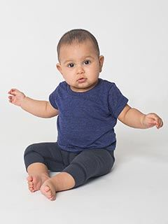 American Apparel Infant Triblend Short-Sleeve T-Shirt