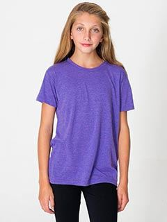 American Apparel Youth Triblend Short-Sleeve T-Shirt