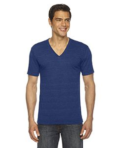 American Apparel Unisex Triblend Short-Sleeve V-Neck