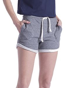 US Blanks Ladies Casual French Terry Short