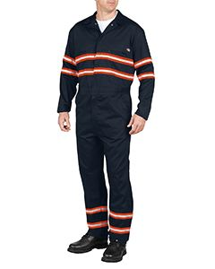 Dickies Drop Ship Men's Enhanced Visibility Long-Sleeve Coverall