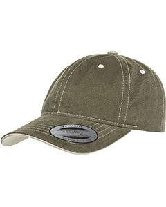 Yupoong Drop Ship Brushed Twill with Transvisor Dad Hat