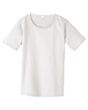 Anvil Ladies' 5.4 oz. Scoop Neck T-Shirt