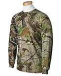 Code V Officially Licensed Realtree Camouflage Long-Sleeve T-Shirt
