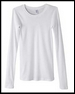 Ladies' 4 oz. Sophie Sheer Rib Long-Sleeve T-Shirt